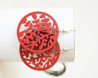 Buy 3 Get 1 FREE/ Little Leaves Laser Cut  ,Naturally Beauty from Wood.