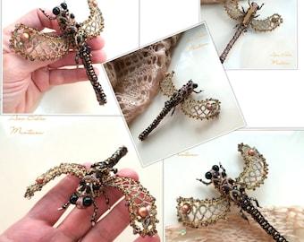 Dragonfly brooch O.O.A.K