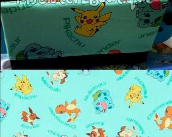 Pokemon Kanto Pikachu Bulbasaur Charmander Squirtle Handmade Nintendo NX Switch Cover