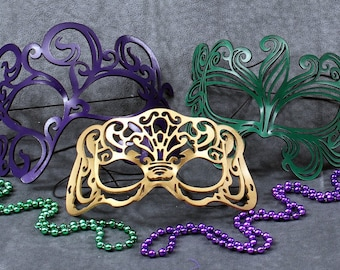 Mardi Gras Masks Special -- Swirly, Victoriana and Muse