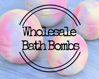 Wholesale Bath Bombs Handmade Artisan Bath Fizzy Handcrafted Bath Truffles Homemade Wholesale Bulk Bath Bombs Bath Fizzies Gift for Her