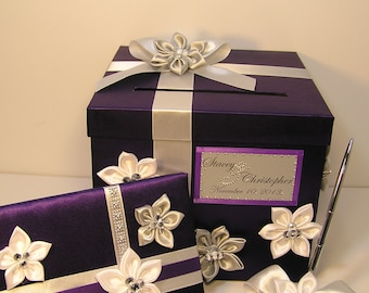 Wedding Guest Book and Pen Set -Custom Made(ONLY Guest book and pen/pen holder)