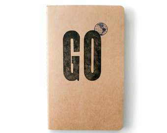 Go Travel Journal Medium Kraft Moleskine