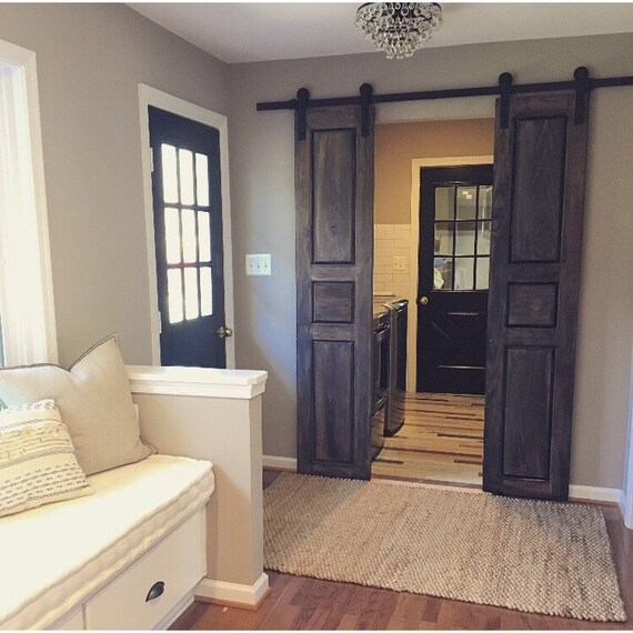 Raised Panel Interior Sliding Hinged Pantry Bifold Doors
