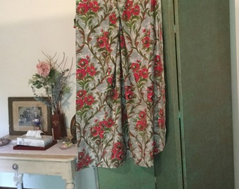 Fabulous French Vintage 1950's Fabric