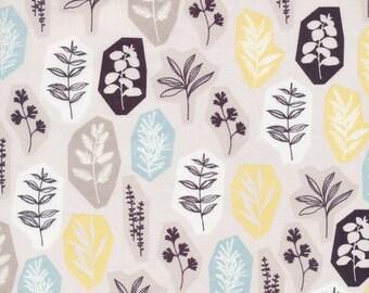 Garden Party - Blue/Grey - Sow & Sew - Eloise Renouf - Cloud9 Fabrics - Poplin