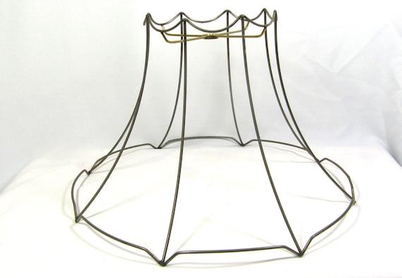 lamp shade frame for table floor hanging lamp round bell. Black Bedroom Furniture Sets. Home Design Ideas