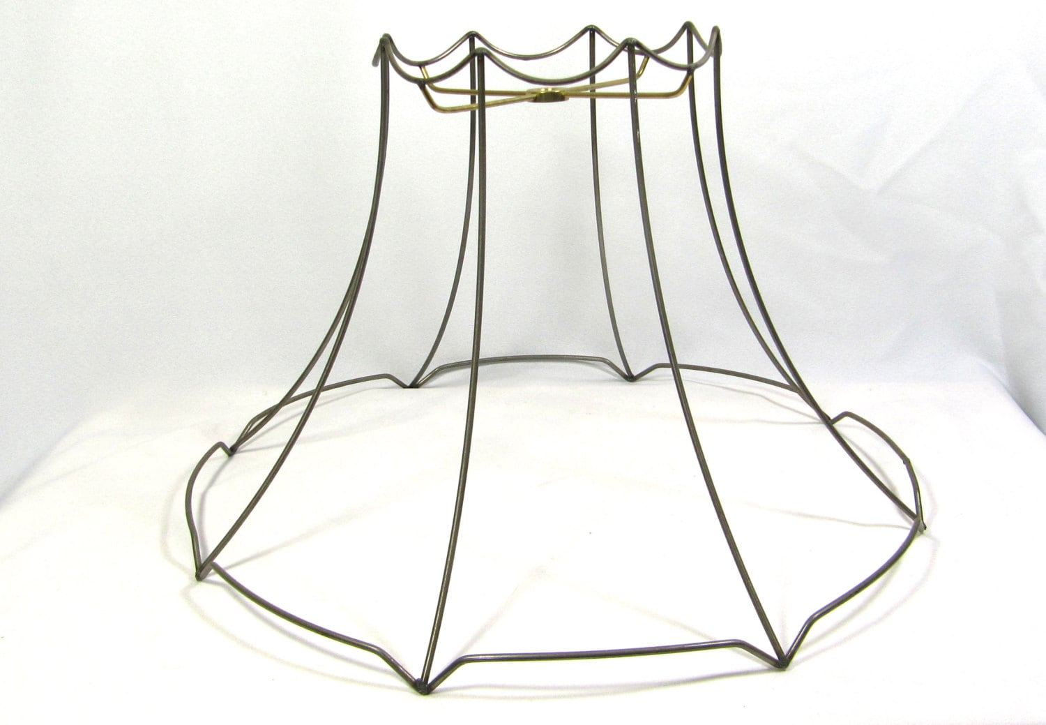 Lamp Shade Frame for Table Floor Hanging Lamp Round Bell