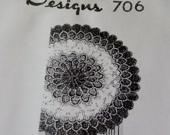 Crocheted Bathroom Accessories PDF Pattern 706