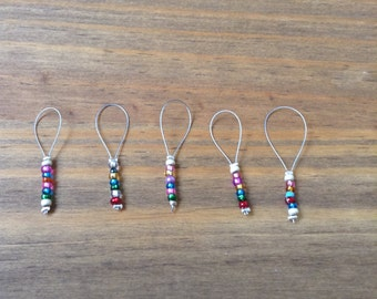 Beaded stitch markers 4