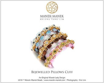 eTUTORIAL Bejewelled Pillows Cuff