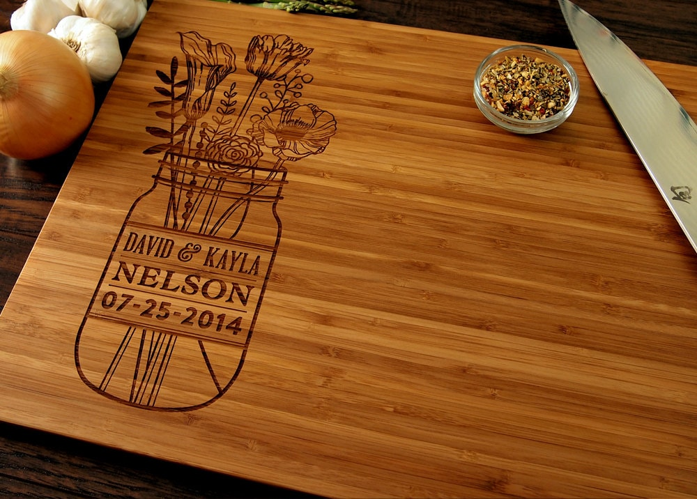 excellent design cool cutting boards.  zoom Personalized Wedding Gift Custom Cutting Board Anniversary
