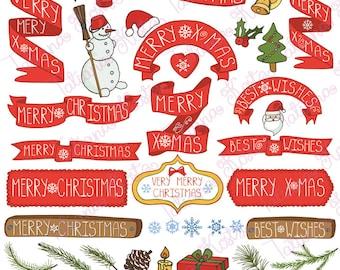 Christmas decoration,greeting ribbons