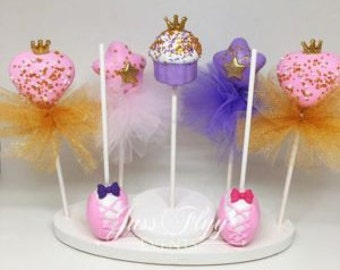 princess cake pop etsy. Black Bedroom Furniture Sets. Home Design Ideas