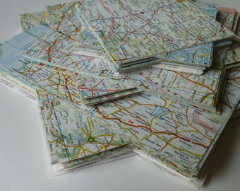 Origami-Paper MAP Recycled 20x20cm 15 sheets