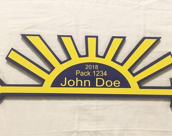 Custom award plaque