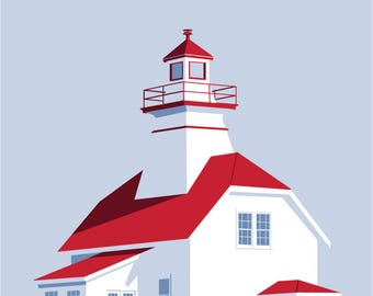Mullins Point Lighthouse NS