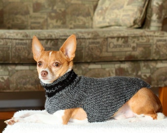 That's My Boy Collection * Chihuahua sweater * Chihuahua clothing * Hand knitted chihuahua sweater * Chihuahua gift * small dog sweater