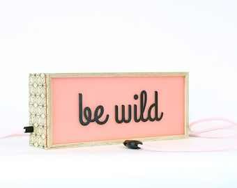 Lightbox Be Long / Be Chatty customize / Be wild