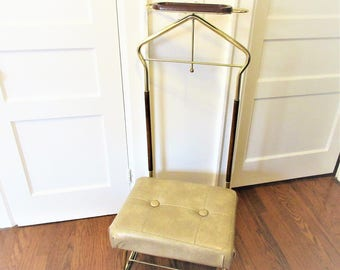 Quick View. Vintage Valet Chair | Vinyl Stool ...