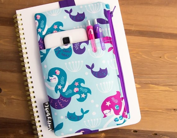 Mermaid Planner Storage Bag
