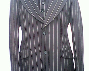Pin Stripe Suit By Coles. Three Piece.