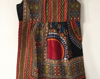 Ethnic child black Dashiki dress