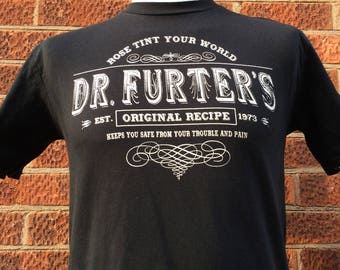 If your world needs to be rose tinted you need Dr Furters original recipe, this shirt was inspired by the song in the rocky horror show