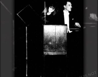 Poster, Many Sizes Available; Léon Theremin C1924