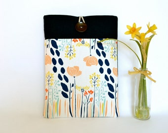 MacBook Air Case or Custom Laptop Sleeve with Pocket - Floral