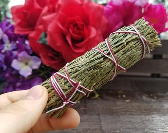 4 inch Cedar Smudge Sticks | Cedar | Smudging | White Sage | Metaphysical Tools | Cleansing | Wicca | Psychic Reading | Shamanism |