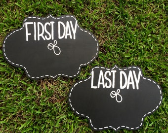 First Day of School Chalkboard - First Day of School Sign - Back to School Sign - First Day of School - Back To School Chalkboard - School