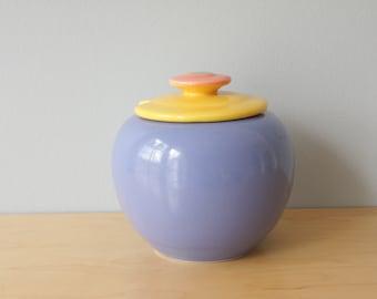 Vintage Lindt Stymeist Colorways Sugar Bowl, Modern Sugar Bowl