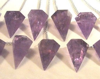 "Amethyst 1"" Long Pendulum from Brazil"