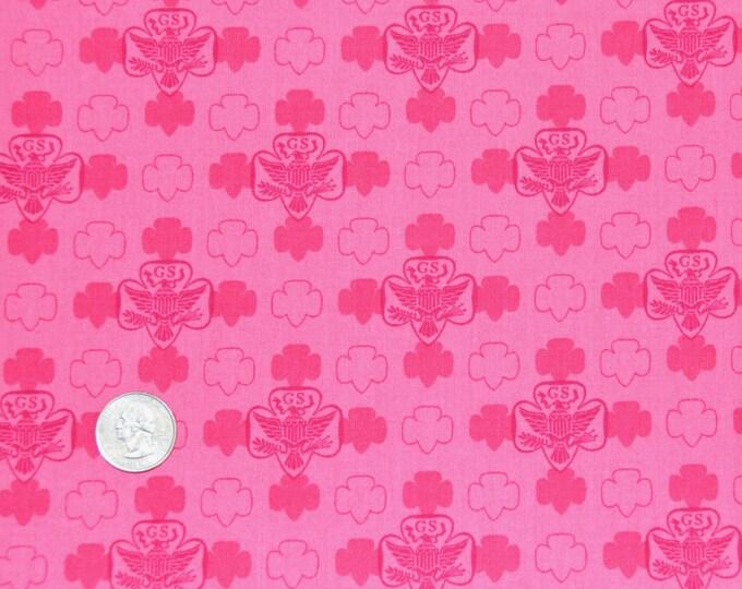 Robert Kaufman Registered GIRL SCOUT Fabric -  100% Kona Cotton - RARE