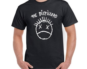 The Distillers T-Shirt Punk Rock Band Logo Men Women Styles tee Size S-6XL