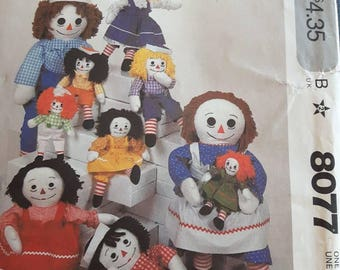 McCalls 8077, Raggedy Ann and Andy