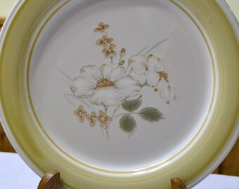 Vintage Country Day Dinner Plate Set of 9 Stoneware Made in Japan Impressions By Daniele Flower Replacement PanchosPorch