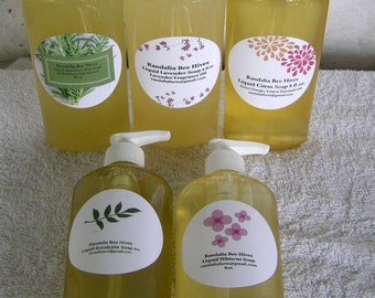 Randalia Bee Hives Infused Botanical Liquid Body Soap