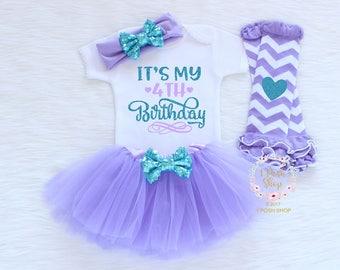 Fourth Birthday Outfit Girl, 4th Birthday Outfit, Fourth Birthday Outfit, Toddler Fourth Birthday, 4th Birthday Shirt, Birthday Gift BFF7