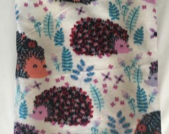 Hedghogs Fleece Blanket - Extra Large