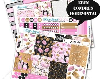 Valentines Day Stickers, Party Planner Kit 200+ Valentine Planner Stickers, for Erin Condren Horizontal Planner Sticker #SQ00342-ECH