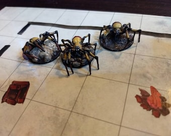 D&D Painted Spider