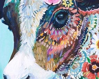 Diamant-Malerei-Kuh 30 x 40