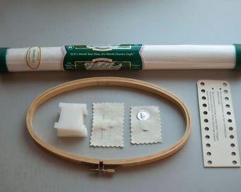 Cross stitch kit for beginner