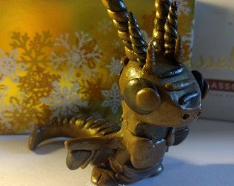Polymer Clay Chocolate Dragon!