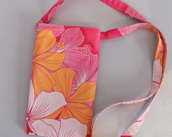 Cell Phone Pouch With Lanyard Mobile Phone Carrier with Neck Strap