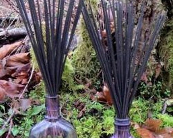 Eucalyptus Lavender Fresh Hand Dipped Charcoal Incense 20 Sticks Home Fragrance Handmade Gift