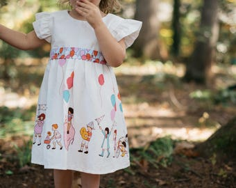 Toddler Birthday Balloon Dress