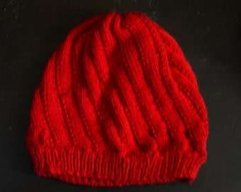 Red's Knit Cloche Hat